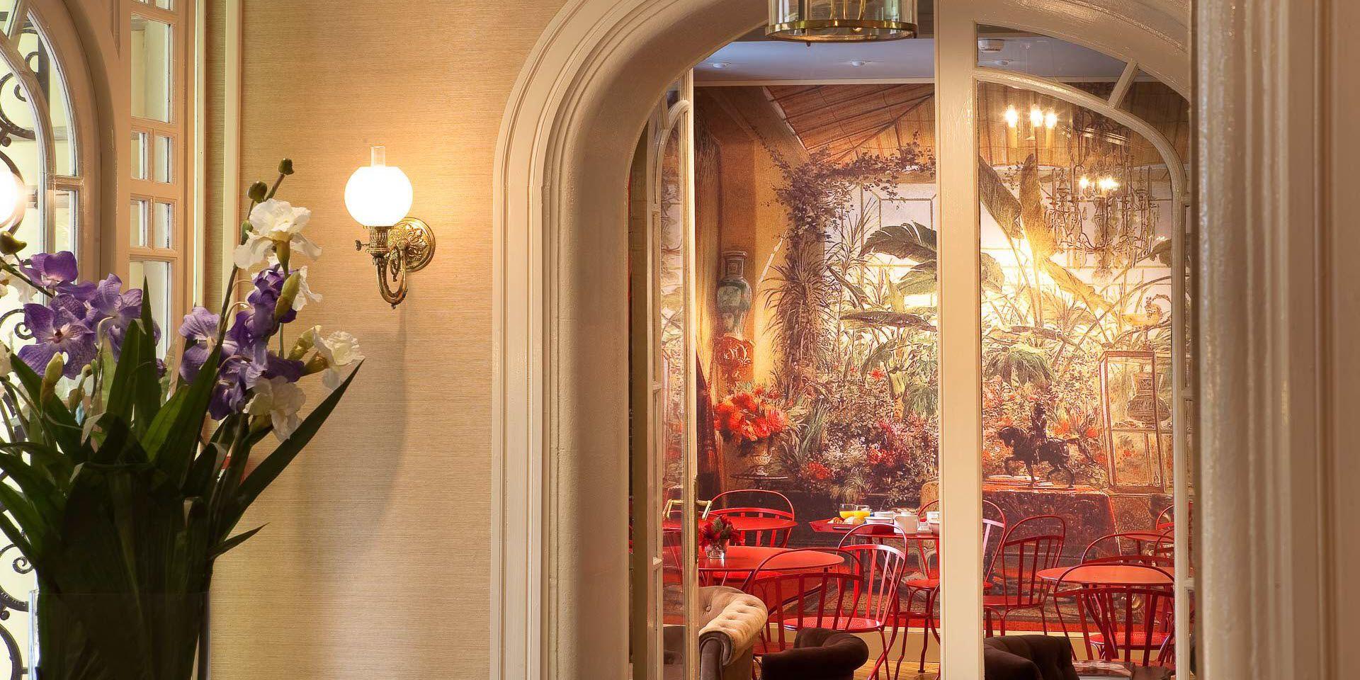 H tel de charme paris h tel perreyve 3 toiles for Paris hotel de charme